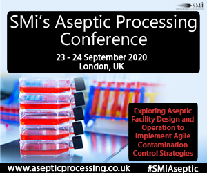 Registration Opens for SMi's Inaugural Aseptic Processing Conference