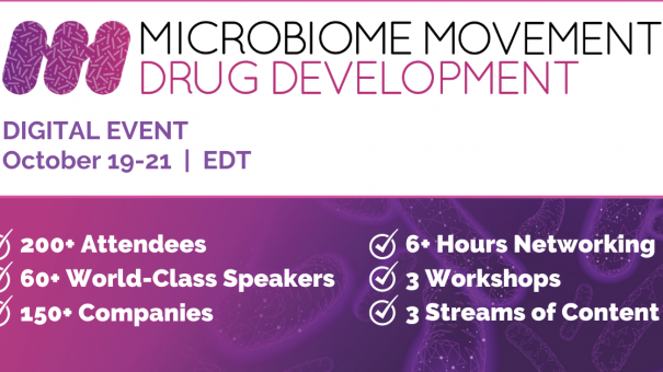 5th Microbiome Movement – Drug Development Summit – Digital Event!