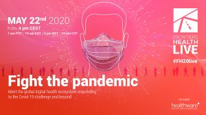 Livestream of digital health event Fight The Pandemic