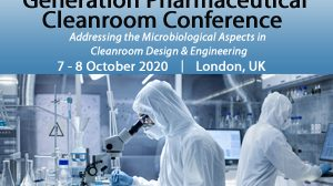 Registration is open for SMi's 2nd Annual Next Generation Pharmaceutical Cleanroom