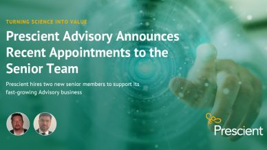 Prescient Announces Recent Appointments to the Senior Advisory Team