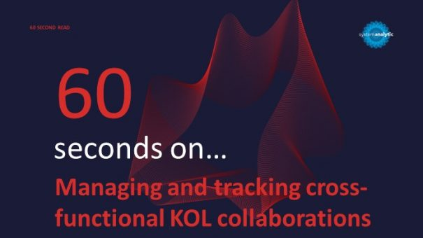 Managing and Tracking Cross-functional KOL Collaborations