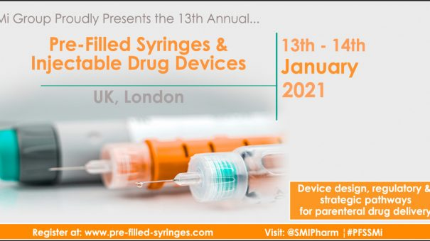 Registration opens for Pre-filled Syringes & Injectable Devices Conference 2021