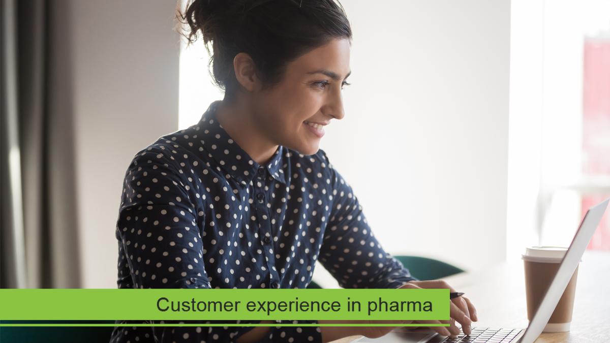 Providing a positive customer experience through pharma content