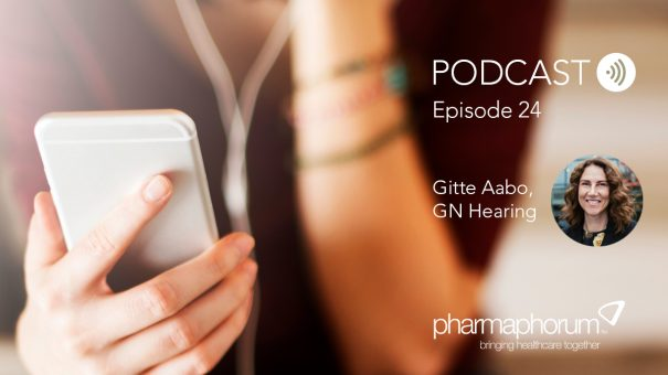 Gitte Aabo on telemedicine and GN Hearing: the pharmaphorum podcast