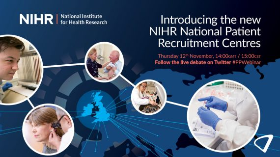 Introducing the new NIHR National Patient Recruitment Centres