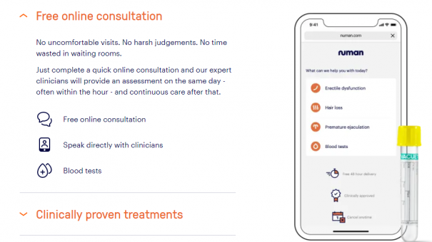 Online male health clinic hires former NHSX director to guide medical strategy