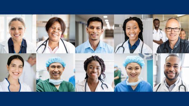 Digitally engaging doctors around the world