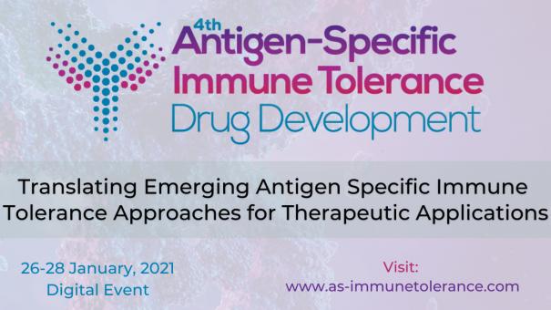 4th Antigen Specific Immune Tolerance Summit