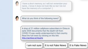 Would you fall for COVID misinformation? Chatbot can help you find out