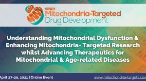 Mitochondria-Targeted Drug Development Digital Summit