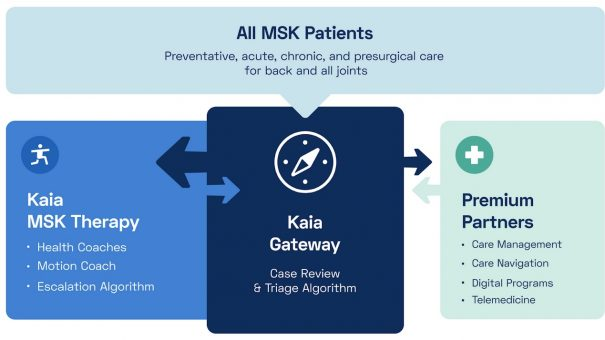 Kaia Health creates new 'front door' for MSK pain services