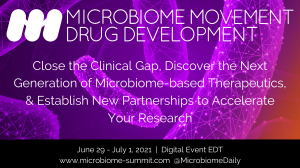 6th Microbiome Movement – Drug Development Summit