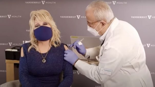 'Vaccine, vaccine': Dolly Parton urges Americans to get COVID-19 shots