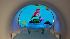 Disney characters will lend a hand to kids during MRI scans