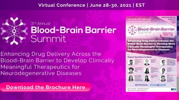 The 3rd Annual Blood-Brain Barrier Summit Returns in August 2021