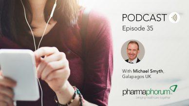 Galapagos UK's Michael Smyth on RNA-based tech: the pharmaphorum podcast