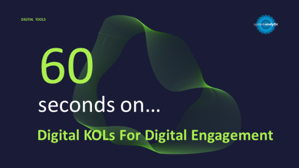 Digital KOLs For Digital Engagement