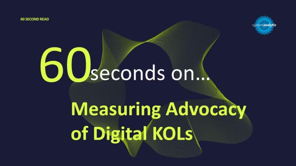 Measuring Advocacy of Digital KOLs