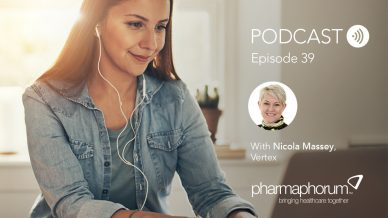 Vertex's Nicola Massey: the pharmaphorum podcast