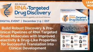4th RNA-Targeted Drug Discovery Summit – Digital Event