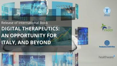 Release of International Book: DTx: An Opportunity for Italy and Beyond